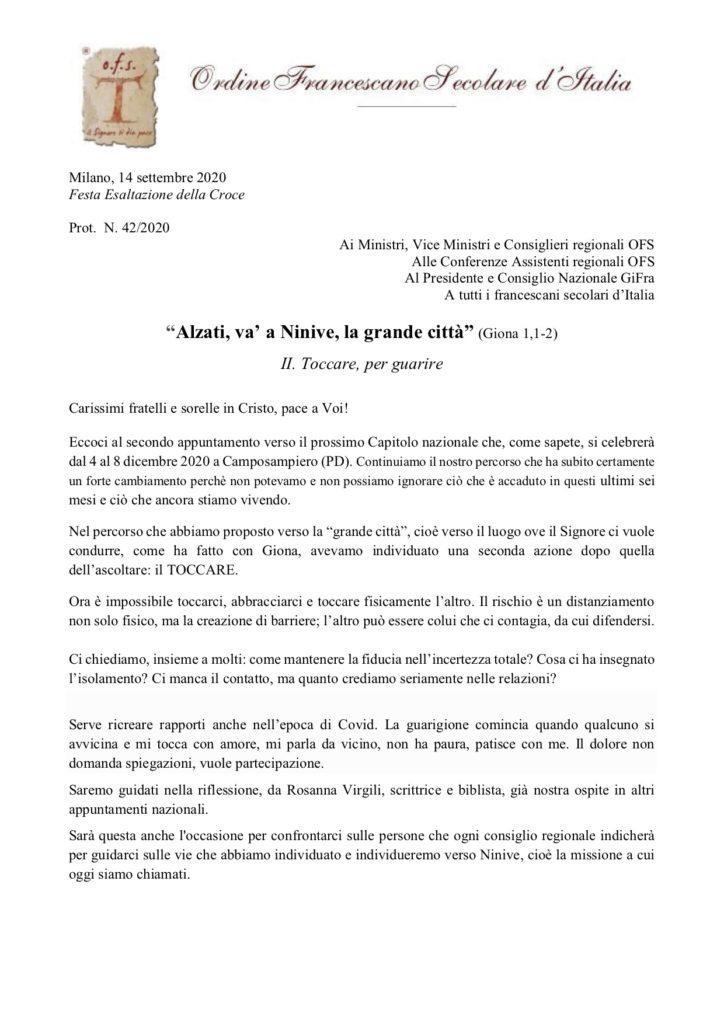 Circolare incontro 23-25 Ottobre Assisi