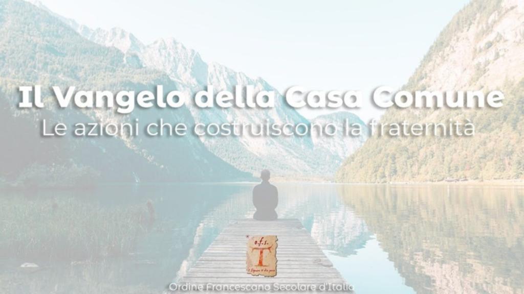 Percorso formativo 2020 OFS Italia - Il Vangelo della casa comune