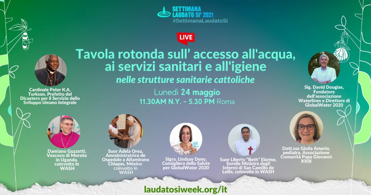 Laudato Si' 24 maggio 2021 - ofs d'italia